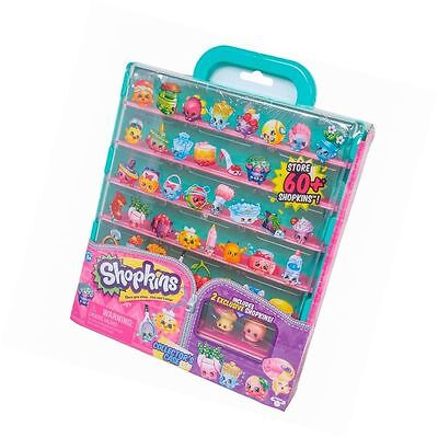 Shopkins Collector's Case Series 5 with 2 Exclusive Shopkins New & Free Delivery
