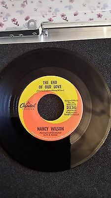 Northern Soul - Nancy Wilson / The End Of Our Love