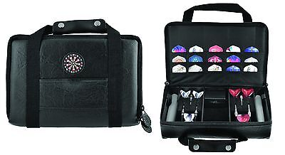 EXTRA LARGE DARTS CASE  - Quality Dart Faux Leather Carry Case Dart Wallet