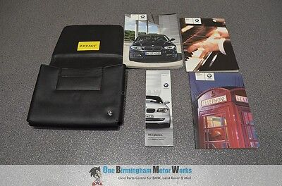 Bmw E81 E87 1 Series Owners Manual Handbook Book Pack Wallet + 4 Booklets 07-11