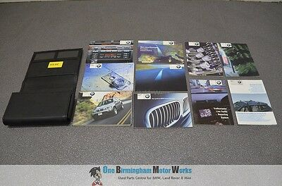 Bmw E53 X5 Owners Manual Handbook Book Pack Wallet And 10 Booklets 2000-2003