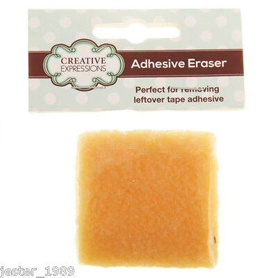 Creative Expressions ADHESIVE ERASER 5cm x 5cm  As used by Sue Wilson