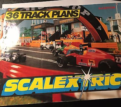 Scalextric 3Rd Edition Catalogue 36 Track Plans