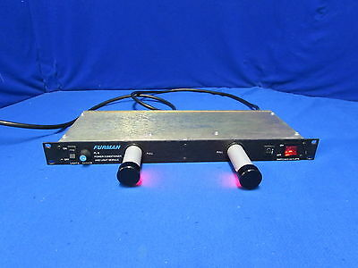 "Furman PL-8 Power Conditioner and Light Module - has ""red color"" bulbs"