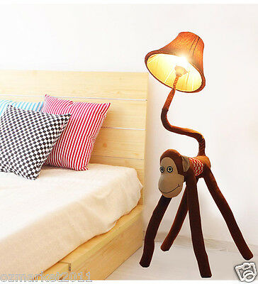 * Modern Style E27 Height 125CM Smiley Monkey Decoration Night Lamp/Floor Lamp
