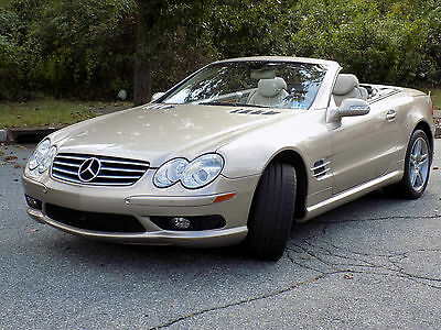 2003 Mercedes-Benz SL-Class Sport Trim 2003 Mercedes Benz SL 500-14k in options-Absolutely Mint-Clean Auto Check report