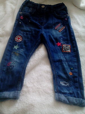 Girls next jeans age 18/24 months