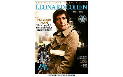 Leonard Cohen - The Uncut Ultimate Music Guide, New Collectors Edition...new
