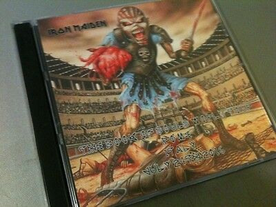 Iron Maiden Double CD Rome Italy The Book Of Souls Tour 2016