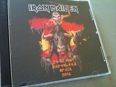 Iron Maiden Double CD Barcelona, Spain The Book Of Souls Tour 2016