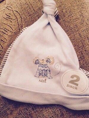 Next Baby Boy Hats Size 0 - 3 Months BRAND NEW WITH TAGS