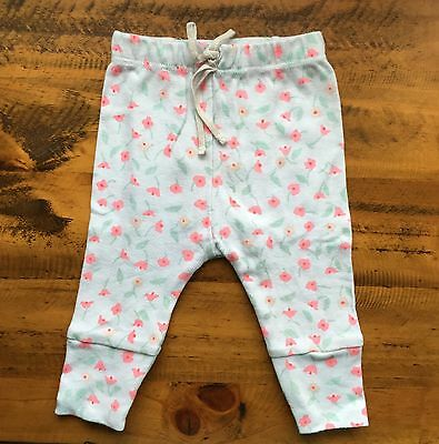 Bonds Baby Girl Newbies Floral Pants Size 000