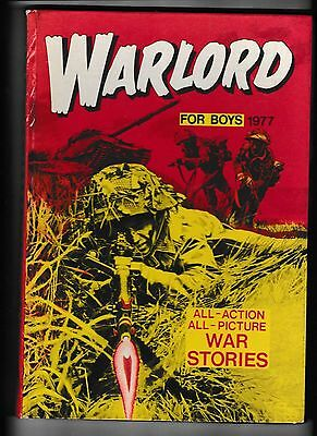 Warlord For Boys Annual 1977 Not Price Clipped In Good Order