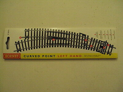Hornby R8074 left hand curved point 00 Gauge Railway