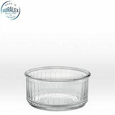 Duralex Ramequin Ramekin 3 7/8'' 10cm Clear Set of 4  Dinning Kitchen Home New