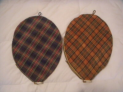 Vintage Rare Tennis Racquet Covers Two (2)