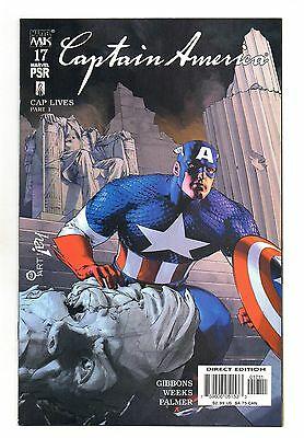 Captain America Vol 4 No 17 Nov 2003 (NM) Marvel Comics, Modern Age (1980 - Now)
