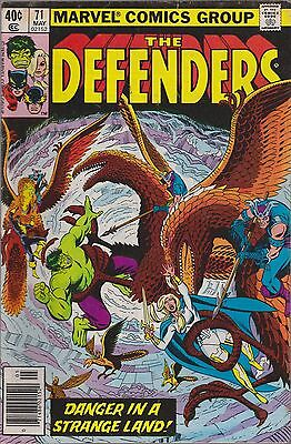 The Defenders #71 Marvel 1979