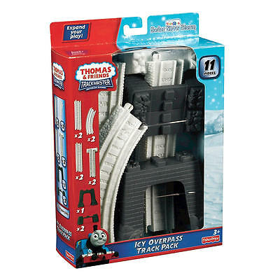 TRACKMASTER THOMAS & Friends Icy Overpass Track Pack