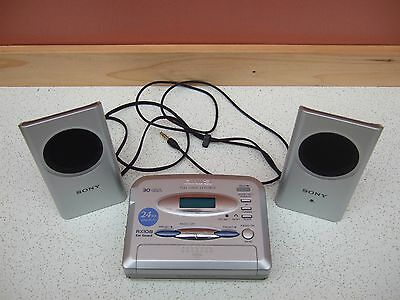 Aiwa HS-RX108  FM/AM Stereo Radio Cassette Player with Sony Powered Speakers