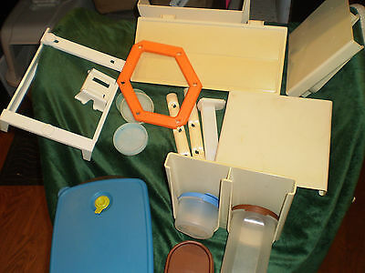 Lot Tupperware Vintage And New Storage, Mod Mates, Organizers, Etc