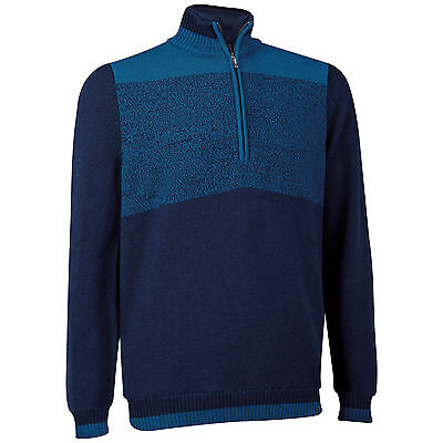 Ashworth 1/2 Zip Merino Wolle Windstopper Pullover UVP € 190,00