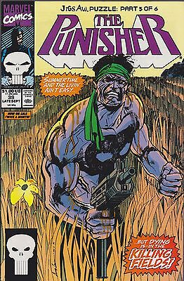The Punisher #39 Jigsaw Puzzle Marvel 1990 Combined Shipping Available