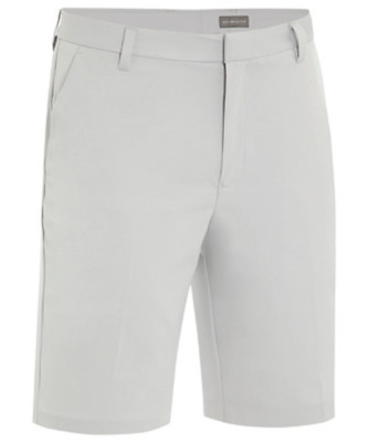 Ashworth Solid Cotton Stretch Flat Front Twill Shorts Herren UVP € 75,00