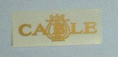 Cable Piano Company Fallboard Decal