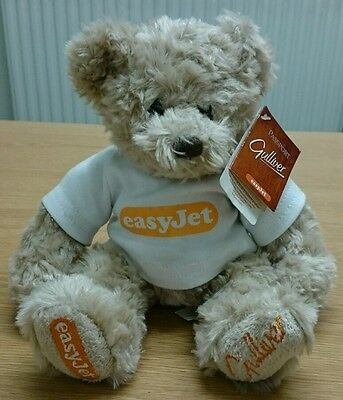 Easy Jet Gulliver Plush Teddy Bear with Tags easyjet airline aeroplane toy vgc