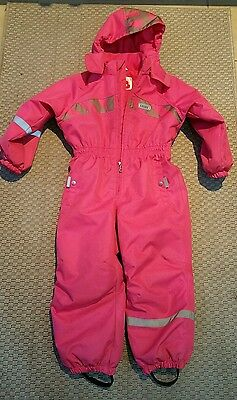 Kids All In One Snow / Ski Suit Pink