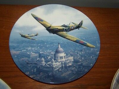 Royal Doulton Plate Lim Edition St Pauls Spitfire