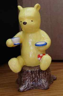 Winnie the Pooh Ornament - Honey and Tea is a Very Grand Thing by Royal Doulton