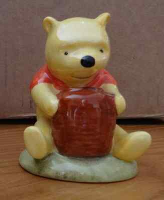 Winnie the Pooh Ornament - Winnie the Pooh and the Honey Pot by Royal Doulton
