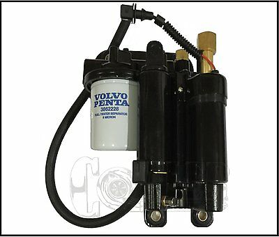 VOLVO PENTA FUEL PUMP ASSEMBLY Fits 4.3L 5.0L 5.7L / 21608511 / 21545138