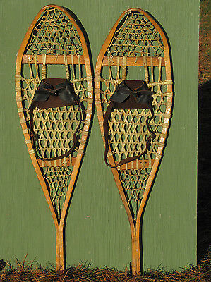"Antique Indian SNOWSHOES ""12 X 41""  Perfect!"