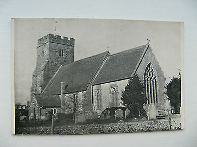 AN  UNIDENTIFIED  CHURCH in the EARLY 1900's - UNPOSTED CARD