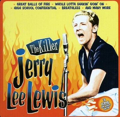 Killer - 3 DISC SET - Jerry Lee Lewis (2012, CD NEUF)
