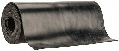 Buna Nitrile Rubber Roll Sheet 1/16 T x 36 W x 50 ft L Black 70A