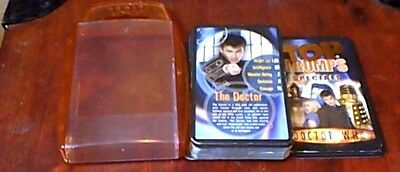 TOP TRUMPS SPECIALS DOCTOR WHO 2006 David Tennant Billie Piper K-9 TARDIS DALEKS
