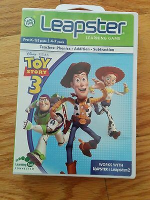 Leap Frog Leapster/Leapster 2 Disney Pixar Toy Story 3 Game