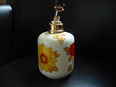 Lampe Berger Ancienne Pillivuyt France Decor Locarno Floral Lamp French