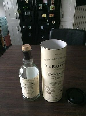 The Balvenie Whiskey Bottle And Case