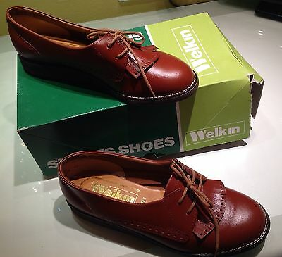 Welkin Ladies Leather Bowling Shoes Size 6.5 BN In box