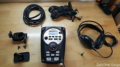 Roland TD-11 V-Drum Module w/Mount, Clamp, Wiring Harness & More H6E8204