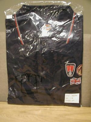 Original 2003 Mg Rover Factory Longbridge Staff Polo Shirt New In Pack Size M