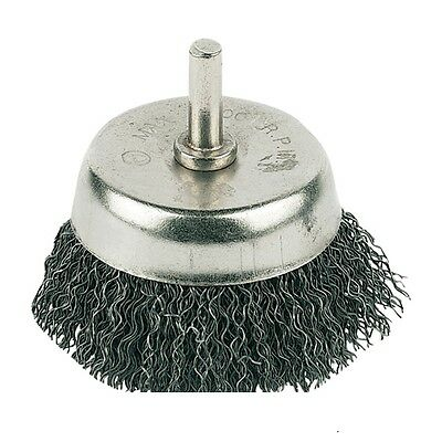 75mm Cleaner, Removal Paint and Rust Rotary Wire Cup Brush Use With Power Drills