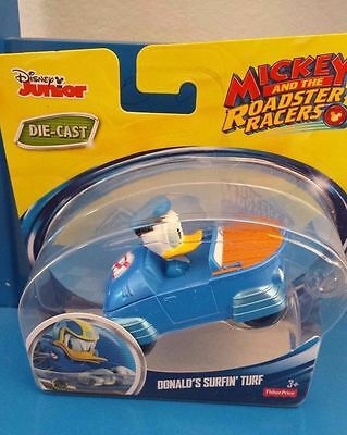 Fisher-Price Disney DONALD'S SURFIN' TURF Mickey & the Roadster Racers 2016 duck