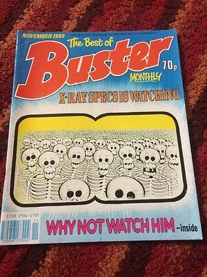 The Best of Buster Monthly - November 1989