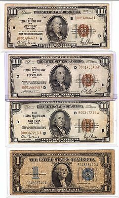 Lot Of Misc.us Currency / Look !!!!!!!